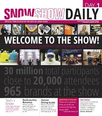 viral brand offers premium goggles sia snow show day1 2016 by active interest media boulder issuu