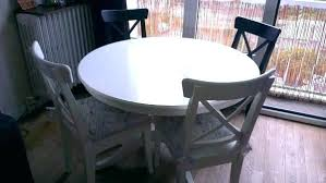 table ronde cuisine ikea table ronde blanc cuisine ikea en 4 1 socialfuzz me