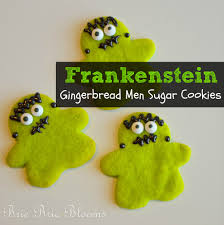 frankenstein gingerbread men sugar cookies modern homeschool family