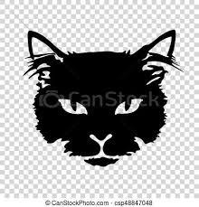 eps vector of black cat silhouette tattoo silhouette black cat