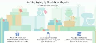 wedding registry stores list bridal registry florida magazine