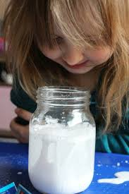 snow storm in a jar weather science for kids