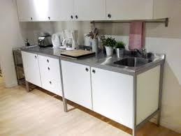 stand alone kitchen furniture stainless steel freestanding kitchen units stunning ikea sink unit