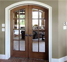 Solid Wood Interior French Doors Solid Wood Doors Add Visual Appeal To Remodeling Projects