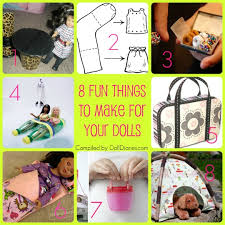 Cool Crafts To Make For Your Room - fun ideas for diy doll crafts 8 things to make for your dolls