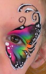 butterfly eye design for the children butterfly