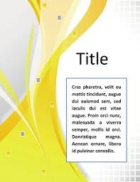 Cover Pages Designs Templates Free pin by hussein on annual reports microsoft word