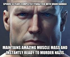 Memes Videos - wolfenstein the new order logic video game logic pinterest