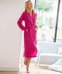 robes de chambres femmes robe de chambre et peignoir femme damart