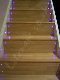 how to fit fibre optic lights to stairs