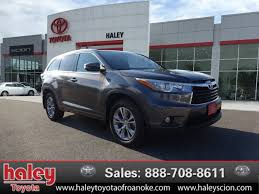 certified toyota highlander certified pre owned 2015 toyota highlander l suv in roanoke