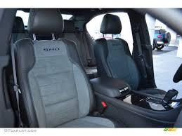 Taurus Sho Interior Sho Charcoal Black Mayan Gray Miko Suede Interior 2013 Ford Taurus