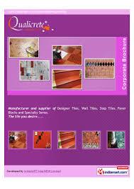 qualicrete designer tiles chennai designer tiles
