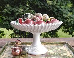 Pedestal Bowls For Centerpieces Glass Pedestal Bowl Etsy