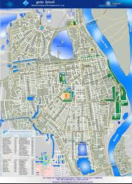 Map Of Cambodia Phnom Penh Map Maps Of Phnom Penh Cambodia Map