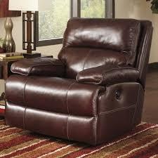 chair and half rockercliner simmons check plush mocha sofa chairs