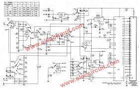 digital multimeter circuit using icl7107 the full diagram of