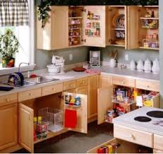 purging and organizing kitchen cabinets