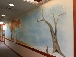 hallway mural winter to fall t from melissa barrett paint design hallway mural winter to fall t by melissa barrett paint design wall murals