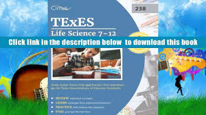 free download texes life science 7 12 238 study guide exam