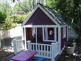 picturesque wooden outdoor playhouse ideas introducing ravishing