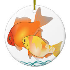 goldfish ornaments keepsake ornaments zazzle