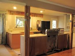 Galley Kitchen Open To Living Room Living Room With Opening In Wall Carameloffers