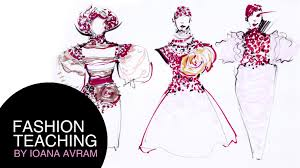learn how to draw fashion sketches with ioana avram part 4