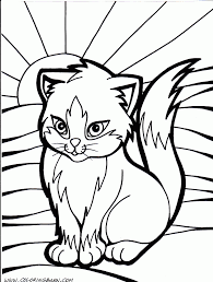 30 cute cat coloring pages animals printable coloring pages