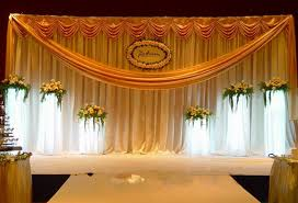 wedding backdrop aliexpress gold wedding backdrop wedding stage curtain wedding decoration 3m