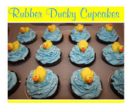baby shower cake icing decorations rubber ducky cupcakes baby