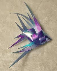 iridescent ribbon iridescent ribbon fish mea s crafts iridescent