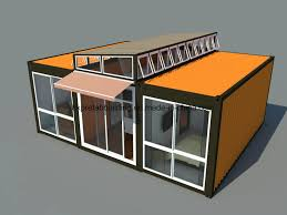 china 40 feet luxury prefabricated modular shipping container