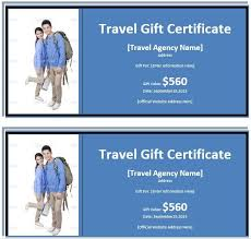 9 free sample tourism gift certificate templates u2013 printable