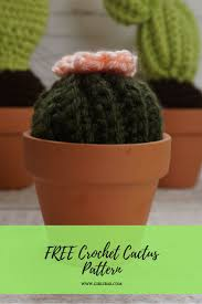 free crochet cactus pattern learn to crochet this cute itty