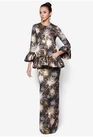baju kurung moden zaman sekarang fesyen raya pattern baju kurung moden 2016 ainul mustafa