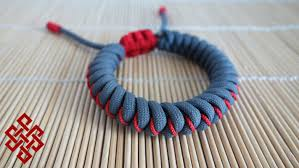 snake knot bracelet images How to make an adjustable stitched snake knot paracord bracelet jpg