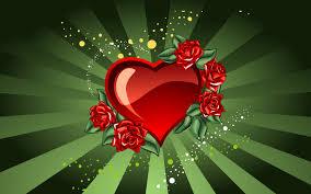 valentines day theme bin