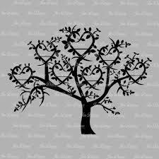 family tree 7 names svg dxf eps family tree files family