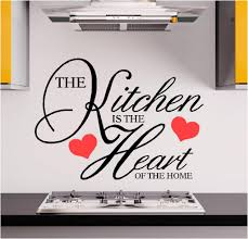 wall art archives custom designscustom designs kitchen is where the heart is vinyl wall art stickers graphics