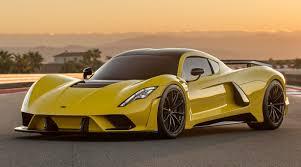 yellow bugatti hennessey venom f5 300mph rival to the bugatti chiron
