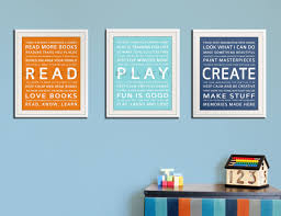 children art create typography art print for kids wall art quotes