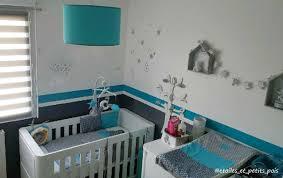 chambre bébé turquoise la chambre bébé turquoise et grise de gabriel etoiles et