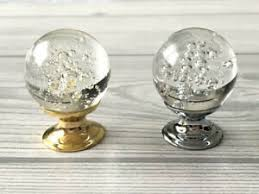 glass kitchen cabinet door pulls details about glass drawer knob kitchen cabinet door knobs silver gold dresser pulls