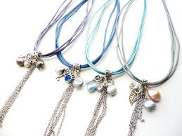 charm leather necklace images Leather cord charm necklace big skies jewellery jpg