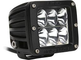 rigid industries led driving lights d series driving h l surface cool white black rigid industries