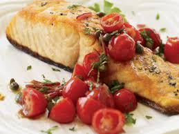 pan roasted salmon with tomato vinaigrette recipe ted allen
