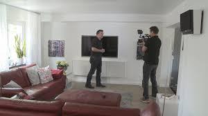 Wohnzimmer 40 Qm Das Wohnzimmer 2 0 Mit Versteckter Technik Youtube