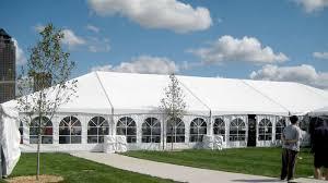 event tent rental 40 x 100 hybrid event tent structure rental iowa il mo wi