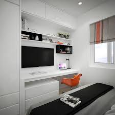 coin bureau design appartement citadin meublé selon les principes du design